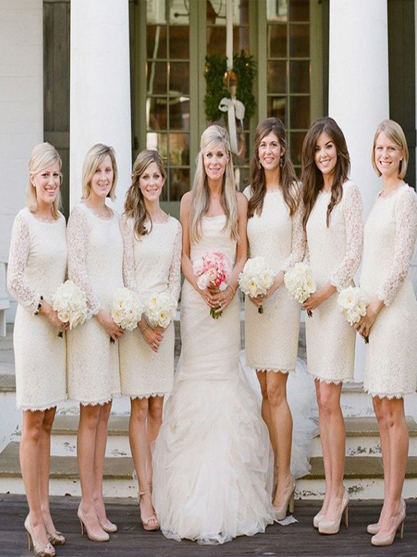 Long and Short Bridesmaid Dresses