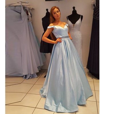 478754a3f8d9 Light Blue Prom Dress