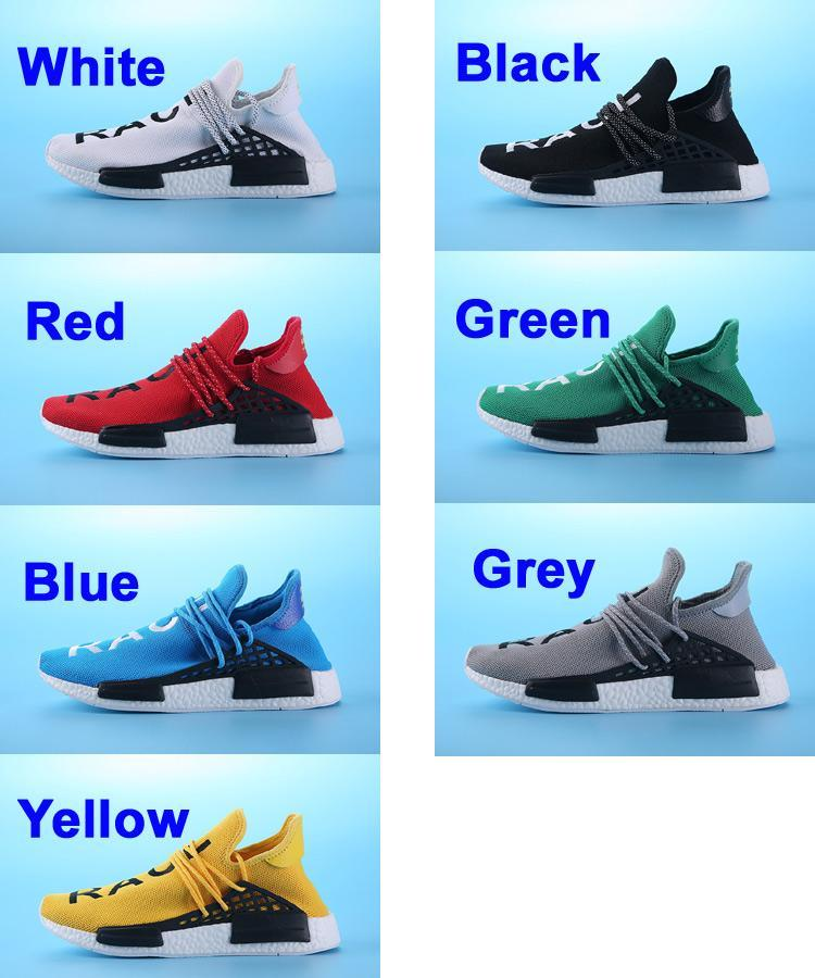 free shipping 5f364 c0f24 pharrell williams shoes human race