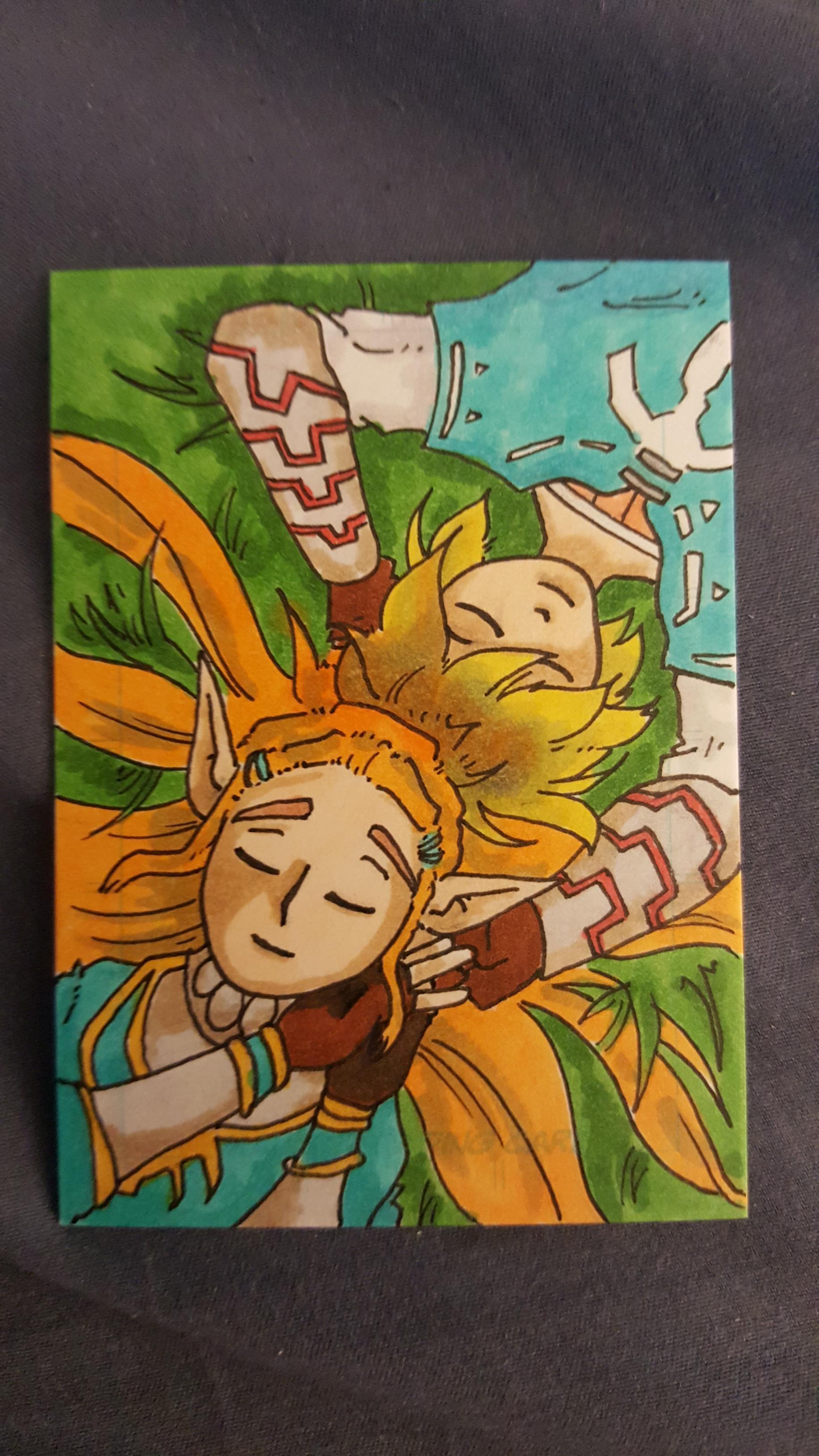 Link And Zelda Botw