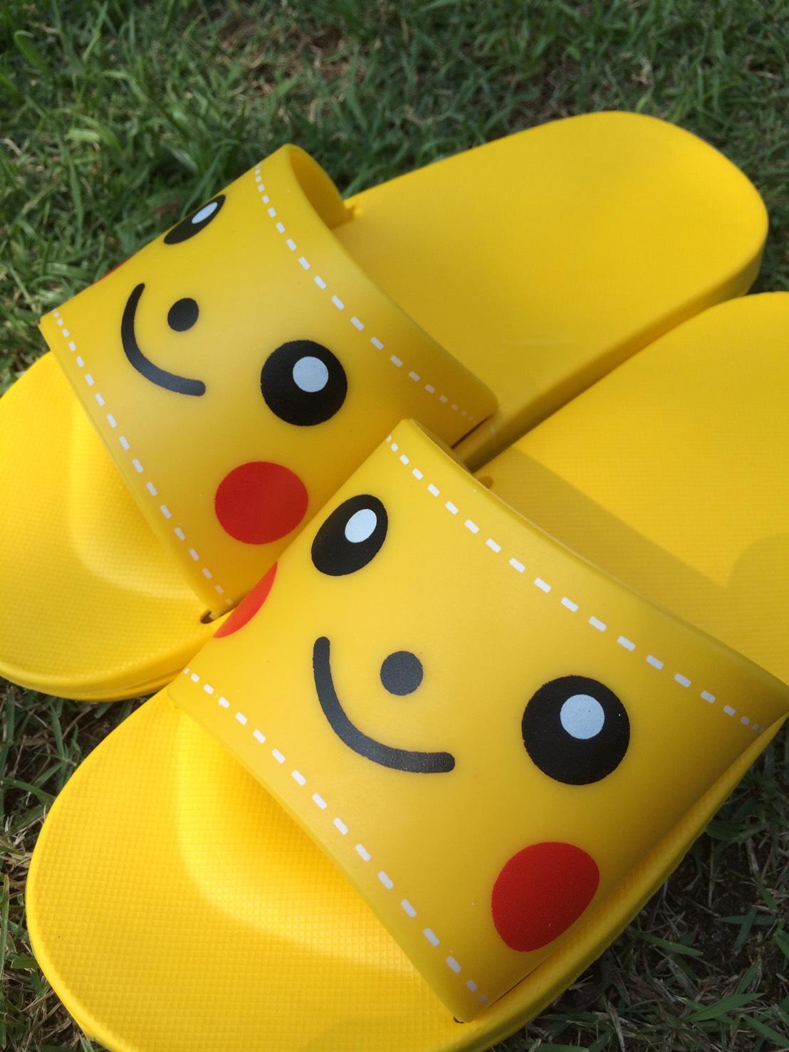 cb22ee727fd PEKA Women Kids Flops Sandals Yellow Sandals Shoes