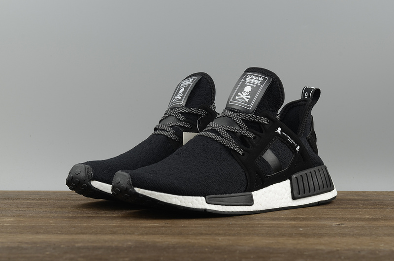 wholesale dealer 4af33 a15aa NMD X Mastermind fashion running shoes All black sold by supplier