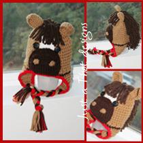 Crochet Horse Hat (brown mane) · JATDESIGNS · Online Store Powered ... 6a731819a67