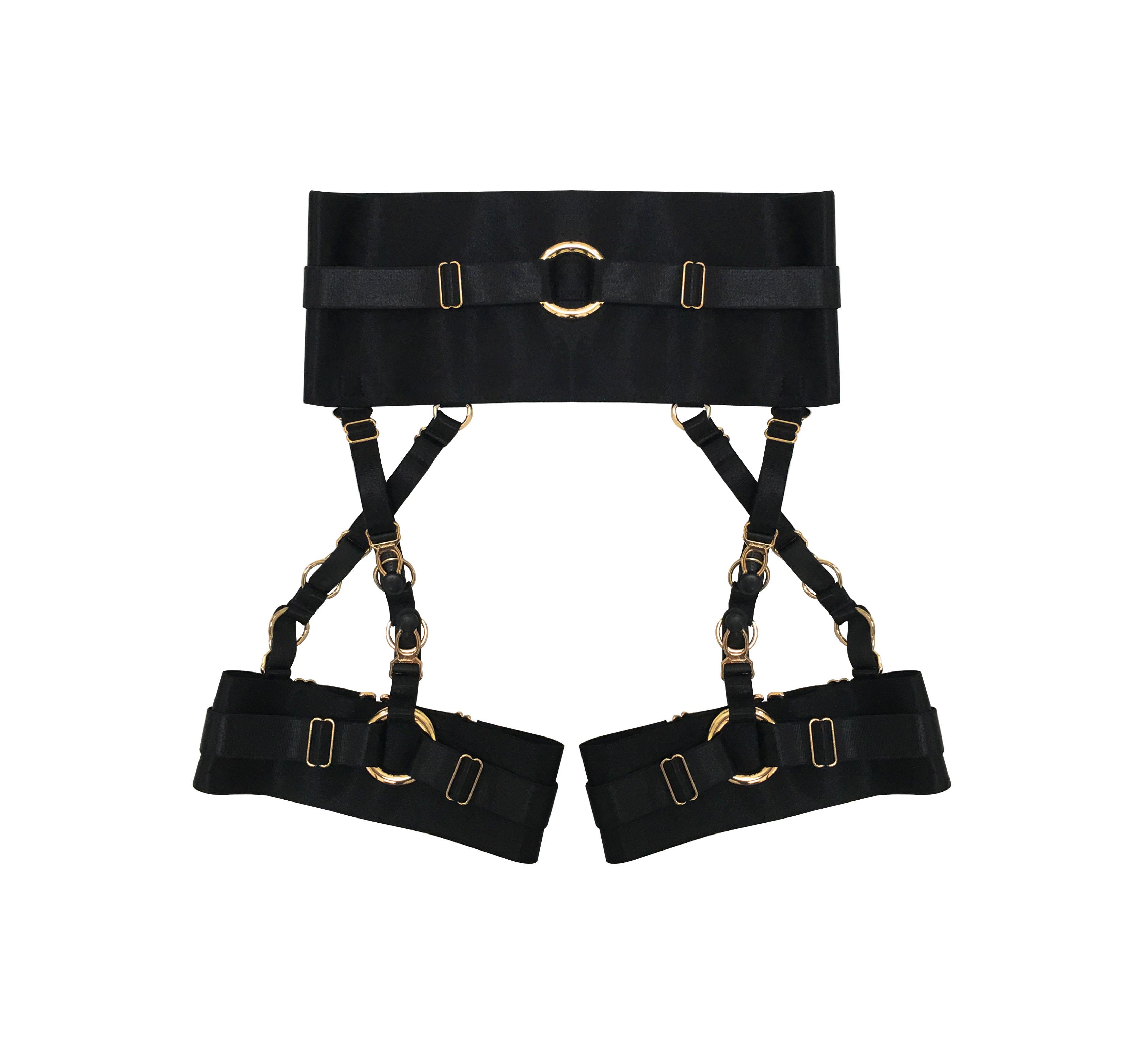 95ff1655b Fenti Garter Belt ( Black + Gold ) · CREEPYYEHA · Online Store ...