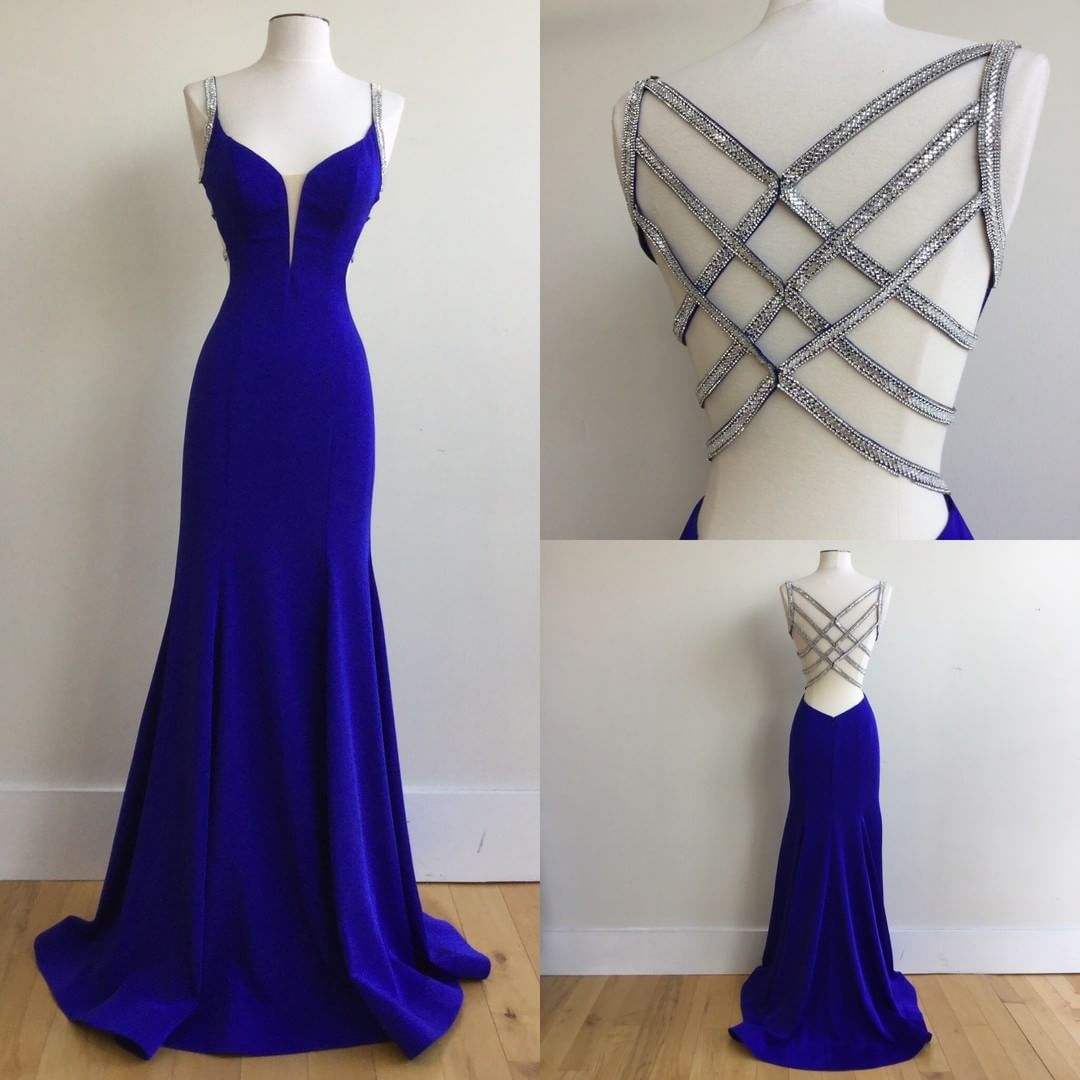 ecfe6024fd33 Sexy Royal Blue Prom Dress,Graduation Party Dresses, Formal Dress ...