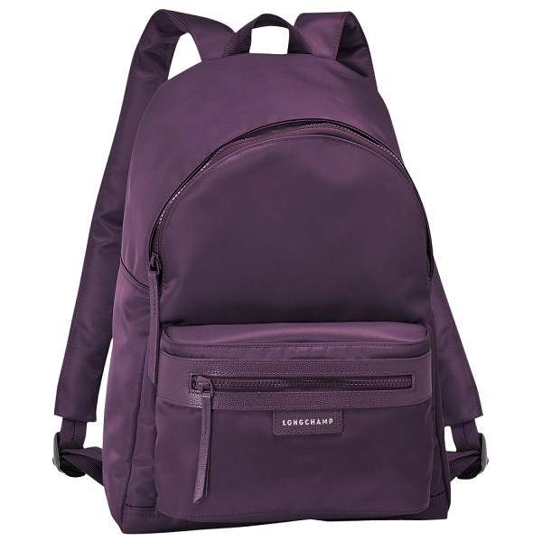 46a91a458bf France Made Longchamp Le Pliage Neo Meidum Backpack Bag Bilberry ...