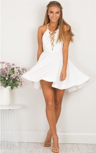 740adb3f3c1a White Homecoming Dress