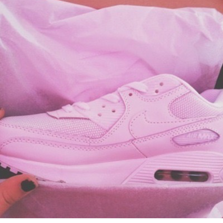 new product 36707 19866 Pastel Baby Pink Custom Nike Air Max 90 on Storenvy