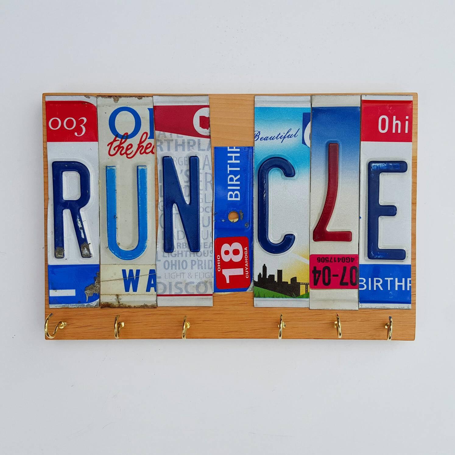 Run Cle Race Medal Display License Plate Solid Wood Display Race Medal Holder Marathon Medal Hanger License Plate Letters Runners Gift Sold By Unlimitedstride On Storenvy