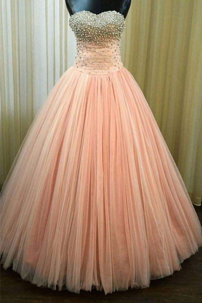 b08baa356f3 Puffy Ball Gown Prom Dresses