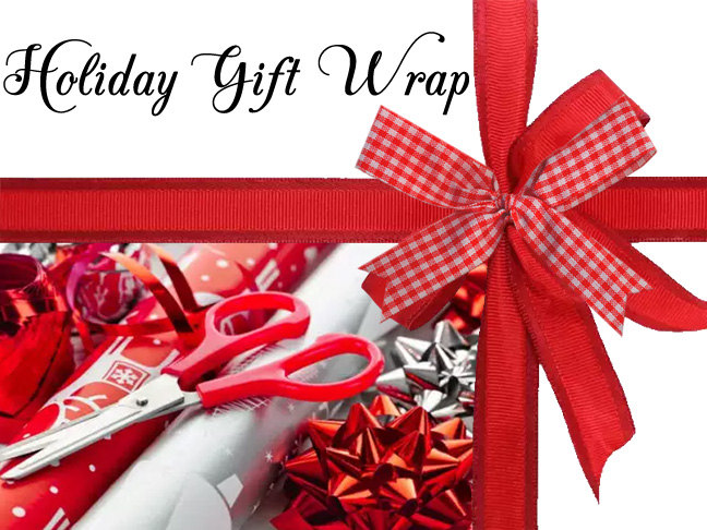 Gift Wrapping Add-On Option