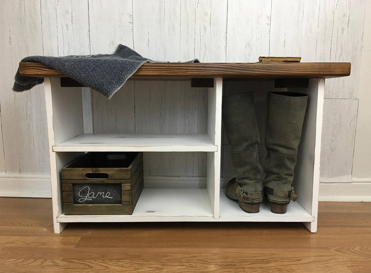Awesome Rustic Entryway Bench With Shelves Solid Wood Entryway Organizer Shoe Rack Shoe Organizer Storage Bench Shoe Bench Rustic Bench Bench Sold By Uwap Interior Chair Design Uwaporg