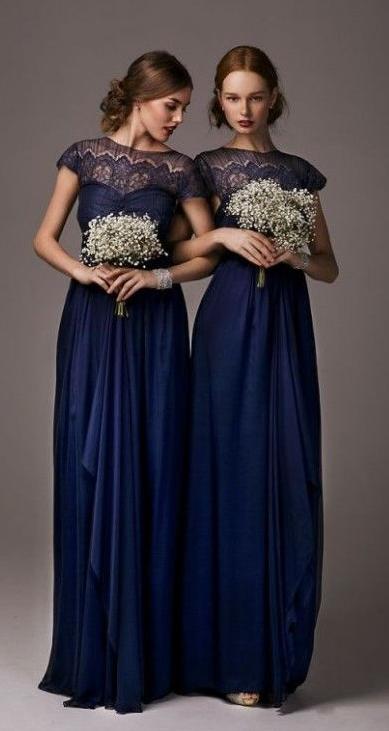 49b0aec04b short sleeve lace bridesmaid dresses