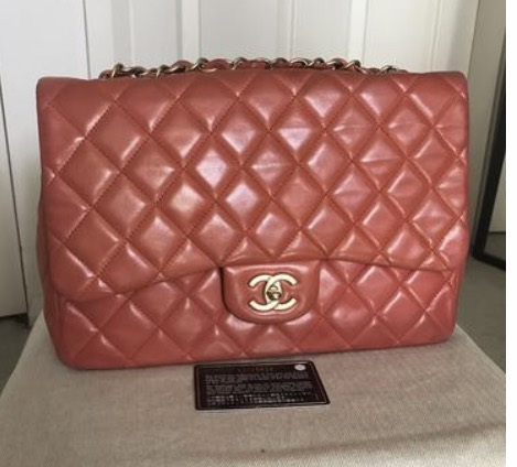 9ff6f88d8cc1 Chanel Red Jumbo Flap Bag on Storenvy