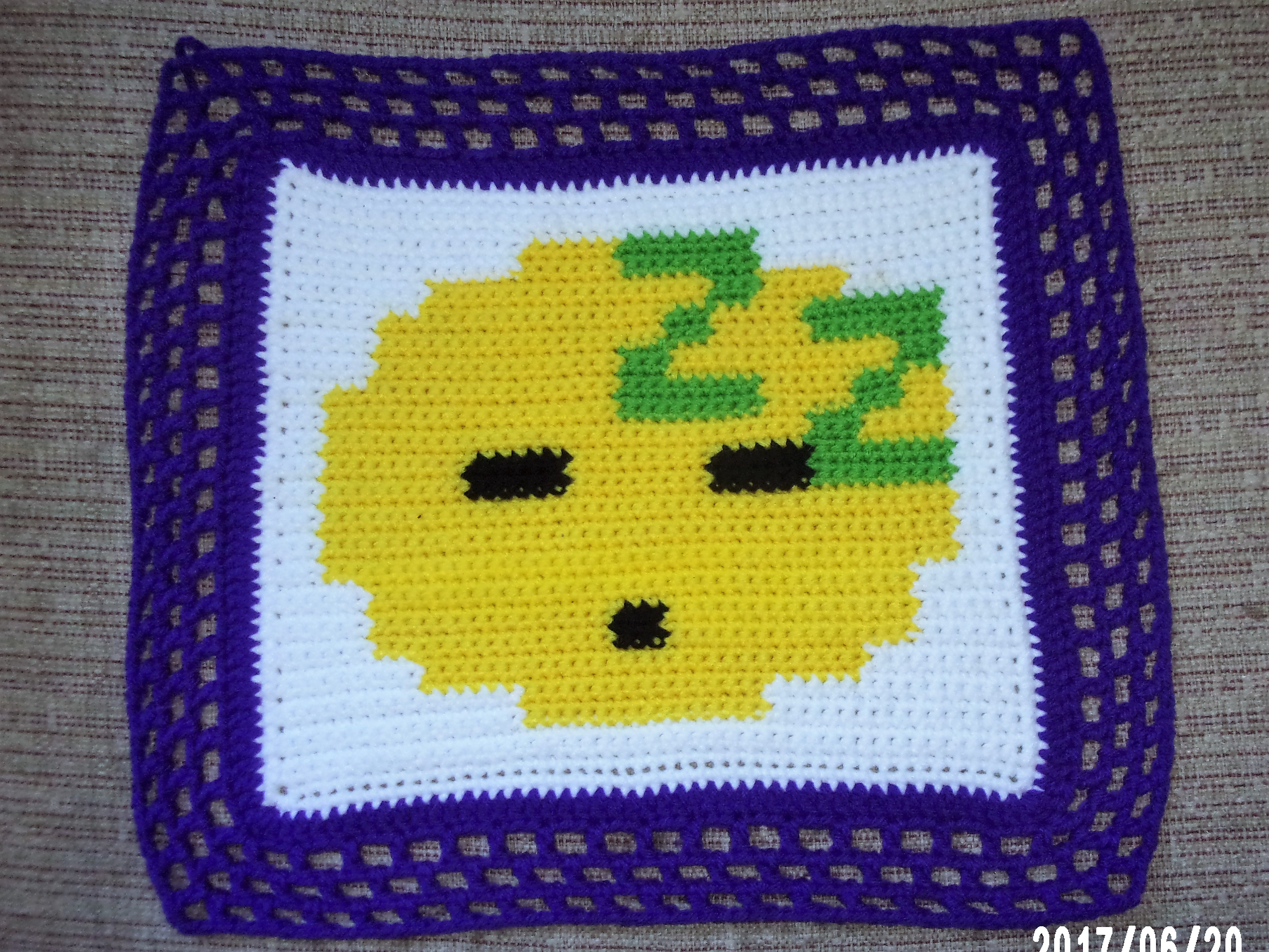 Sleepy Emoji Pillow, 12 inch by 12 inch Emoji Pillow