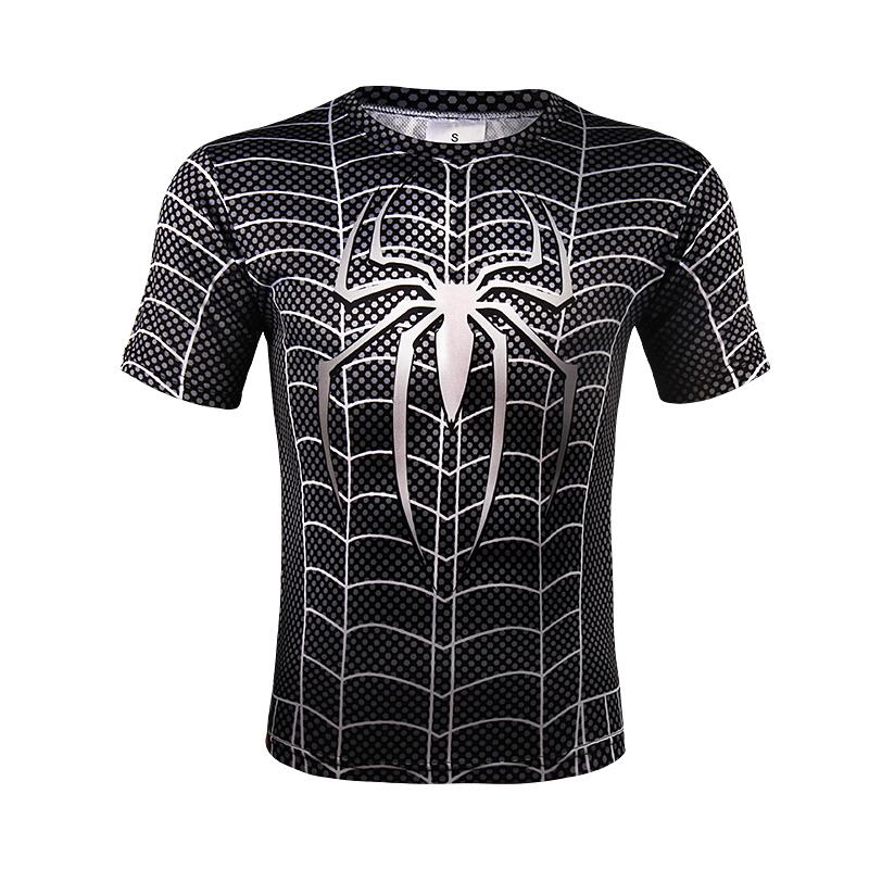 0607cb507 Black 20spiderman 20amazing 20full 20print 20symbiote 20costume 20design  20t shirt 202 original