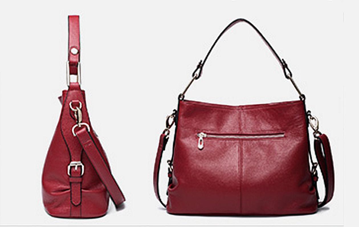 8cd1d62b7b Minimal Chic Navy Leather Hobo Bag. Genuine Leather Hobo. Midnight ...