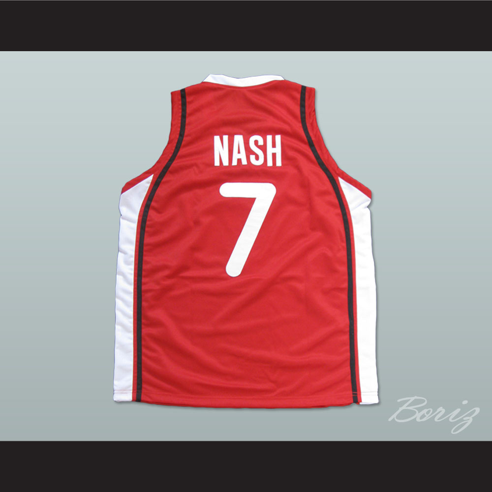 release date 588c8 863dd Steve Nash Basketball Jersey Any Size Kobe Canada All Stitch New Custom  Sewn from acbestseller
