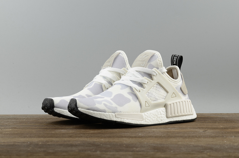 save off 1fddb b16c4 Fashion Adidas NMD XR1 White Camo Boost pk running shoes from BELLDRESS