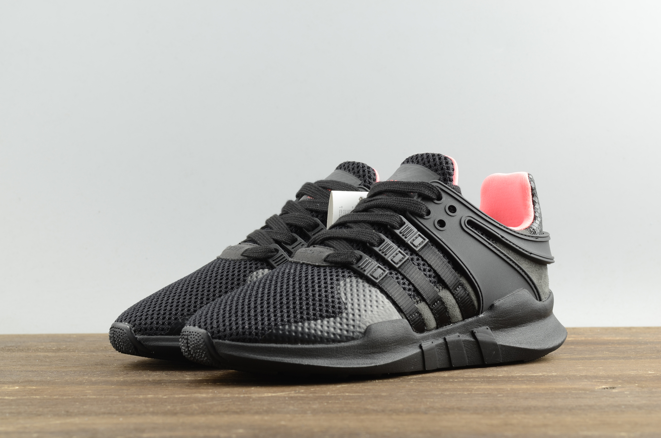 buy online 5b4ae 12d67 Adidas EQT support adv pk 93 black pink running shoes on Sto