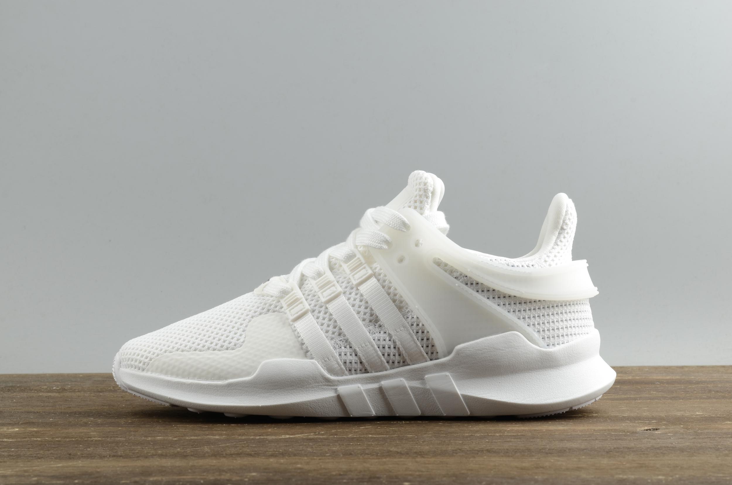 c1072e52bfb ... Adidas EQT support adv pk 93 All white running shoes - Thumbnail 4