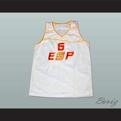 4e1c79f21 Ricky rubio basketball jersey sewn stitch espana all sizes - Thumbnail 3