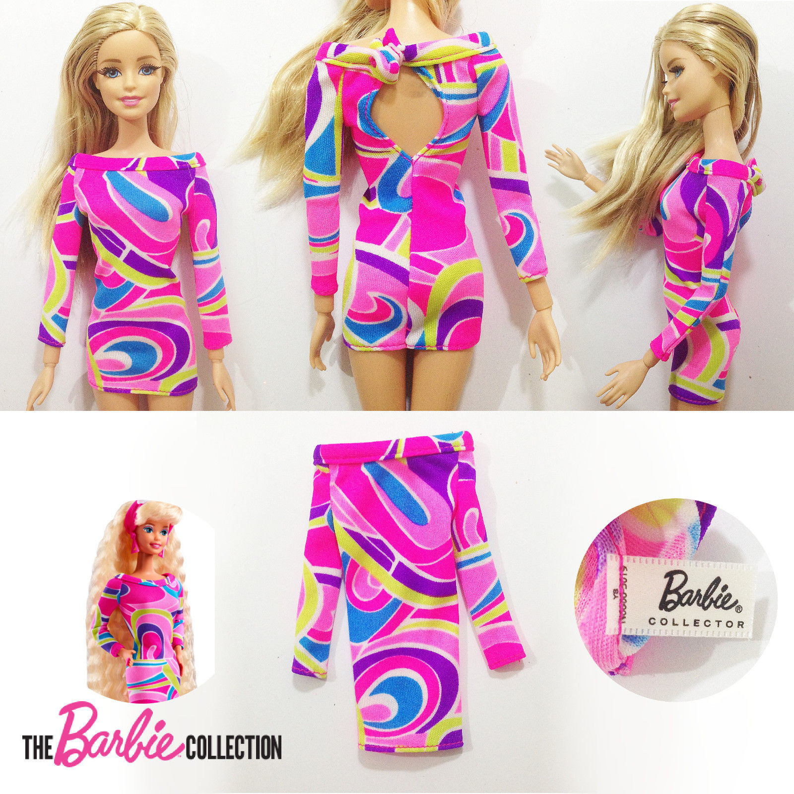 New Dress Of Barbie Collector Totally Hair 25th Anniversary Barbie Doll  sold by BarbieRobertsStuff