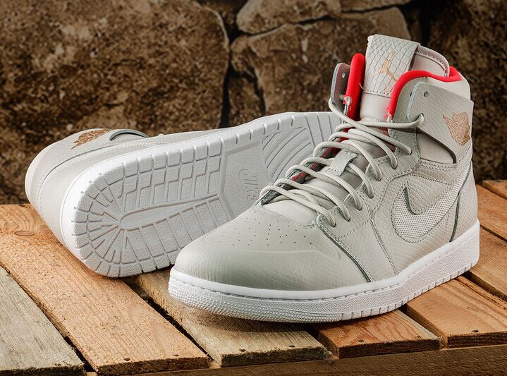 new styles 7a947 523fc Nike Air Jordan 1 Retro High Nouveau Light Bone Cappuccino 819176-050 on  Storenvy