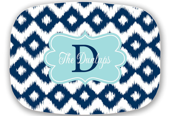 Serving Platter Monogram Personalized Platter Sold By Sassy Southern Gals On Storenvy