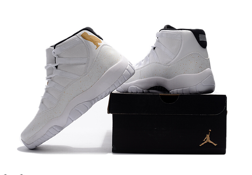 "84a03cb52aec79 2017 Cheap Air Jordan 11 OVO ""White Gold"" Shoes For Sale on Storenvy"