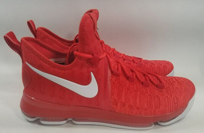 370db71f6aa2 NIKE ZOOM KD 9 IX UNIVERSITY RED WHITE KEVIN DURANT 843392 611 on Storenvy