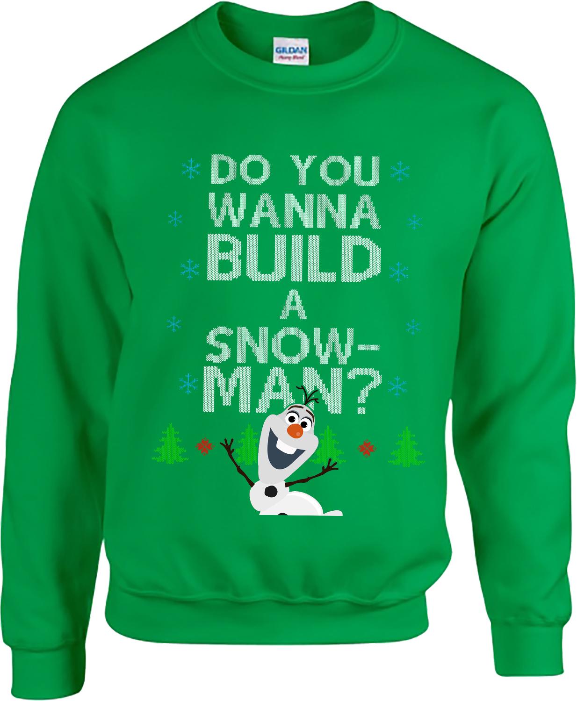Frozen, Olaf, Do You Wanna Build A Snowman, Olaf Ugly Christmas ...