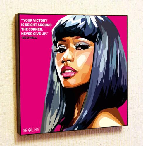 Reprint For MEGATRON Nicki Minaj Art Fabric Poster Wall Decor Print Multi Sizes