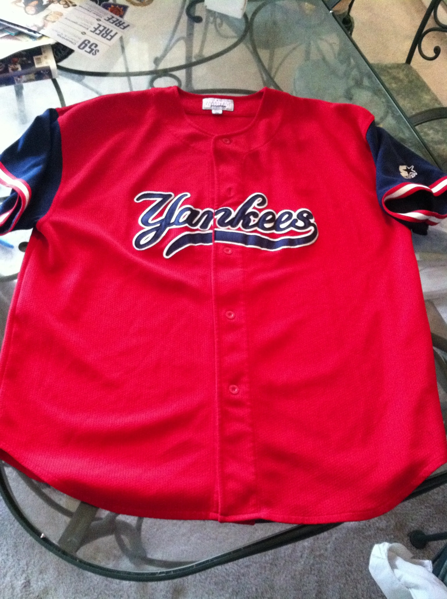 Yankees starter jersey · Thevintagemann · Online Store Powered by ... 224800226c8