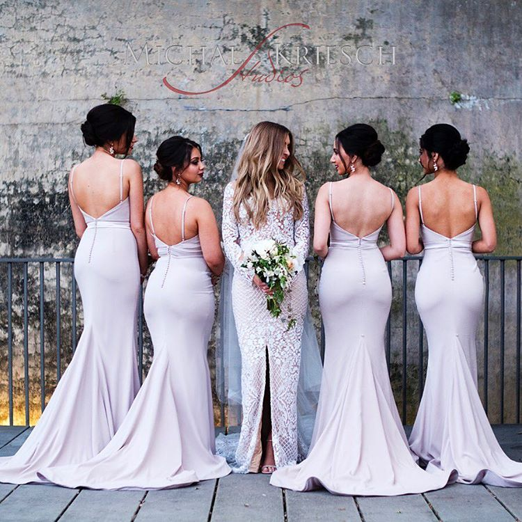 b2ac1e08269 Spaghetti strap bridesmaid dresses, mermaid bridesmaid dresses, sweetheart bridesmaid  dresses, sexy long bridesmaid