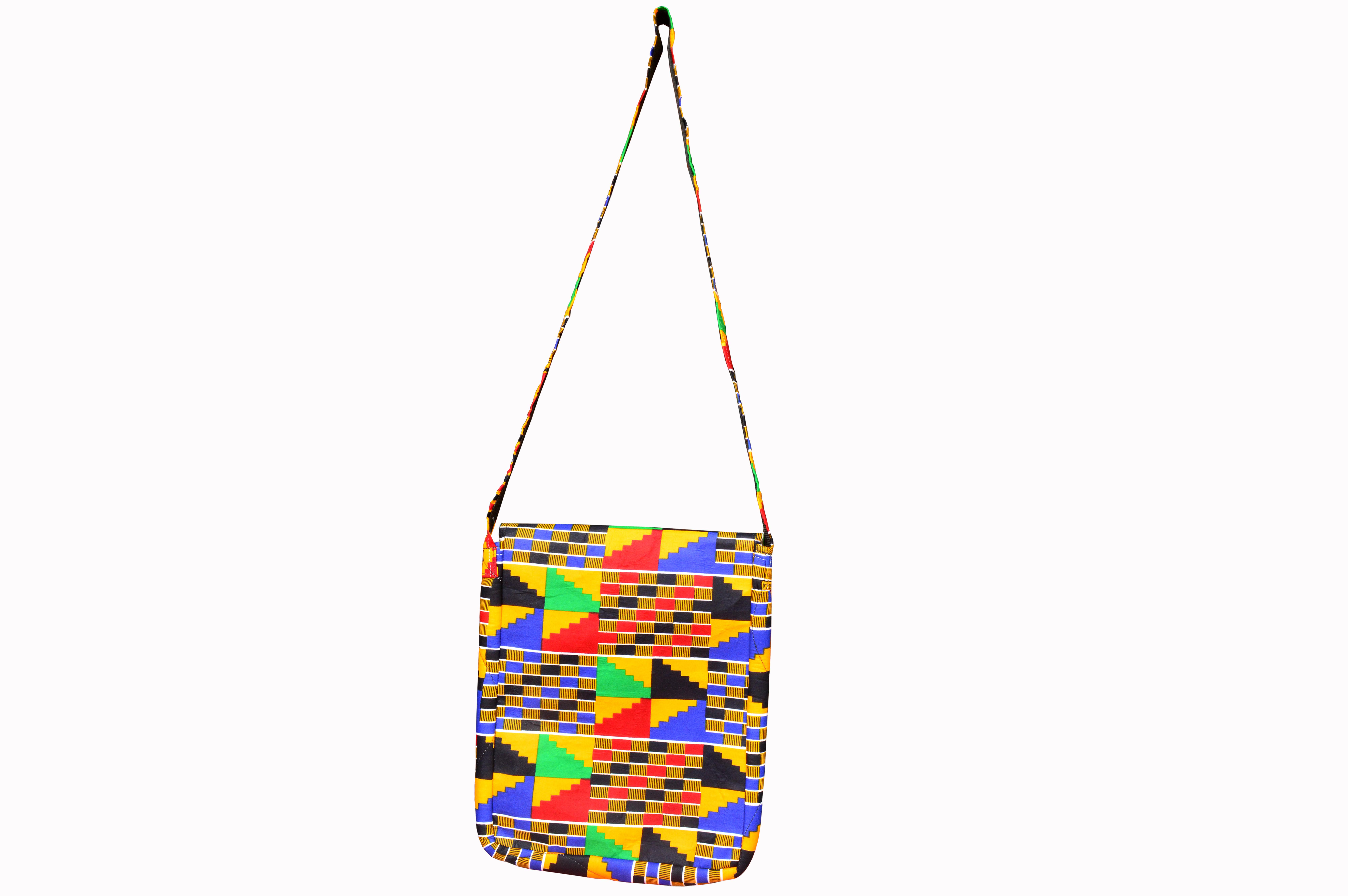 d715464195d8 African Kente Print Fabric Crossbody Bag Shoulder Bag Side Bag Messenger Bag