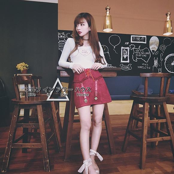 44a3a341d Harajuku Trendy Garter Belt Short Skirt Kpop Fashion DC509 - Thumbnail ...