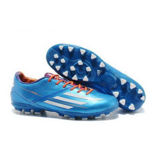 Cheap Adidas F50 Adizero TRX AG Blue White