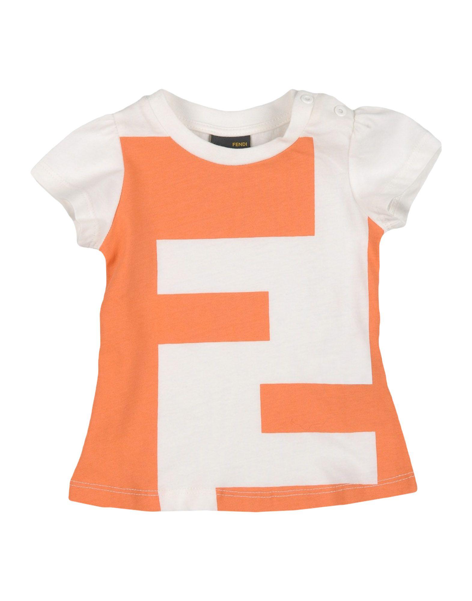 b9c67eb29c6db Fendi  Baby FF Logo T-shirt from Stush Fashionista