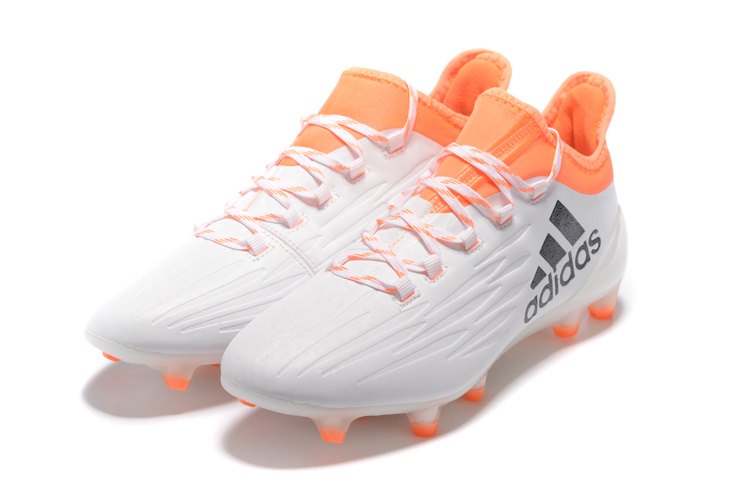 Cheap Adidas X 161 FG Black Orange