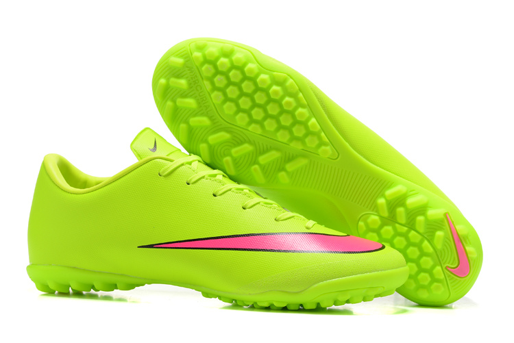 timeless design 063a4 0e332 Nike Mercurial Victory V TF Soccer Green Red sold by cleatssale4A