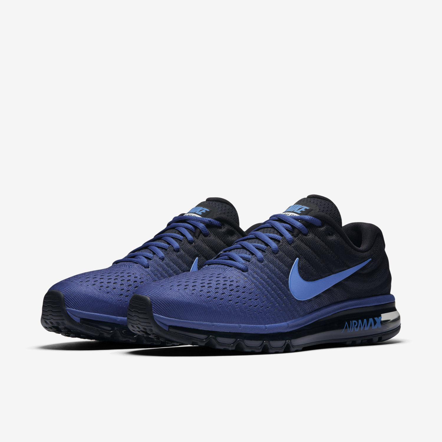 Nike Air Max 2017 Royal Blue/Hyper Cobalt Men Running sold by cleatssale4A