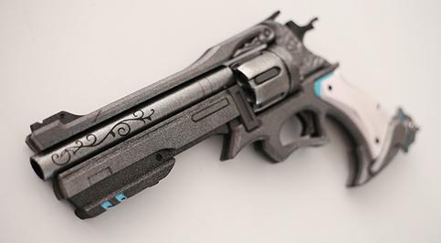Overwatch Mccree Skin Mystery Man Weapon Peacekeeper Cosplay Replica Revolver Buy On Storenvy