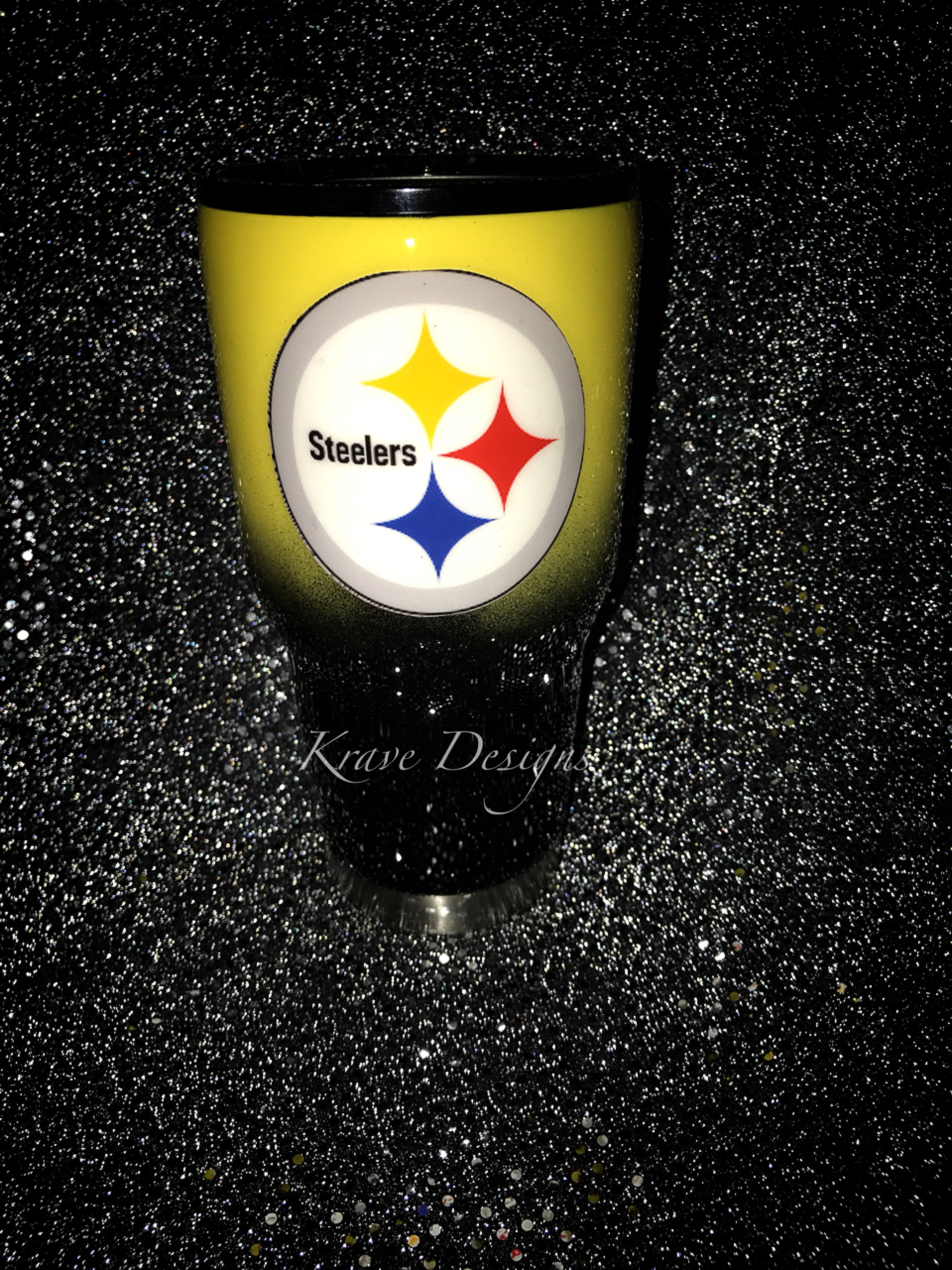 Pittsburgh Steelers Stainless Steel Tumbler Sold By Krave Designs Custom Gifts