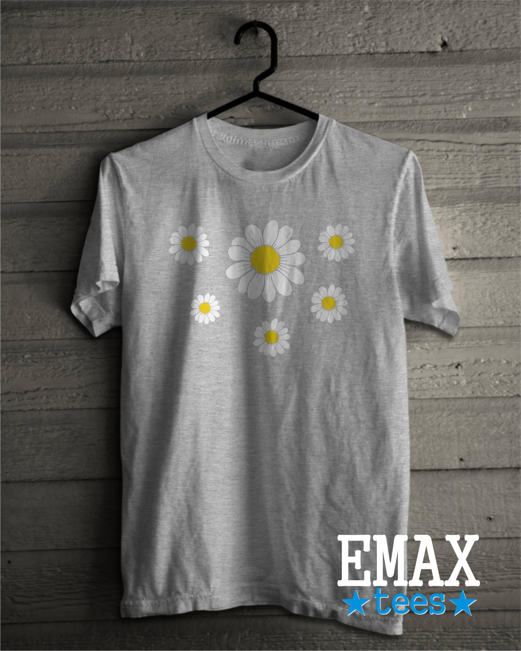 Daisy T Shirt Flower Tshirt Tumblr Clothes Unisex Style Tshirt