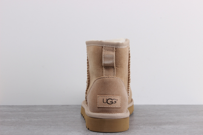 77d61895c5d UGG sheepskin one snow boots waterproof anti-fouling shoes Light Brown from  supplier