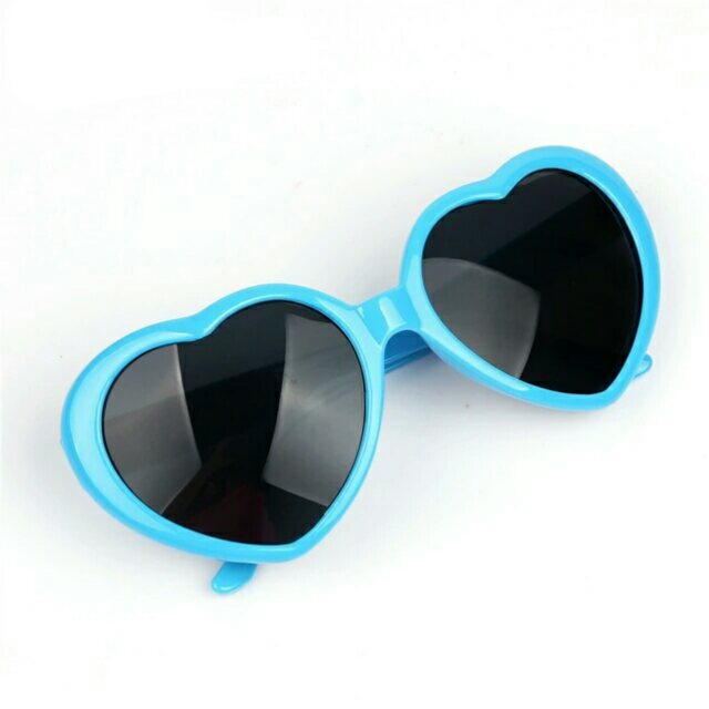 727728907cf ... Fashion Heart Shaped Sunglasses Vintage Love Women - Thumbnail 2 ...