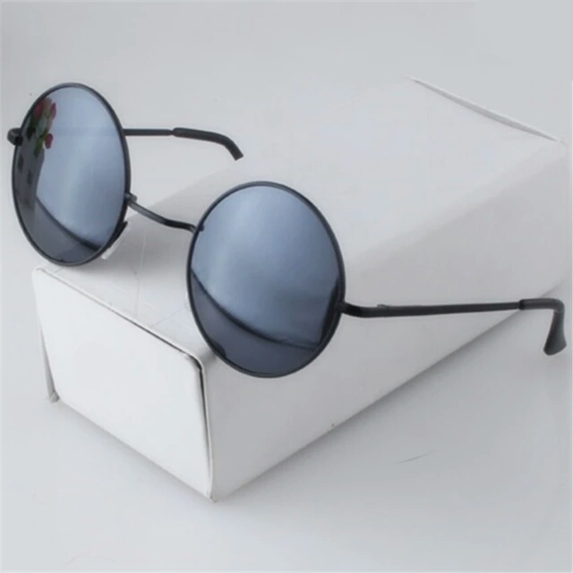 0afd871ec04c Beautiful Vintage Round Sunglasses Women Male Female Sun glasses ...