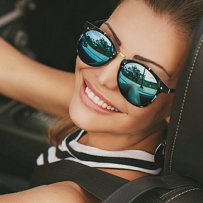 3b72f5d0d01 Vintage round sunglasses women fashion designer eyewear uv400 gradient  female retro