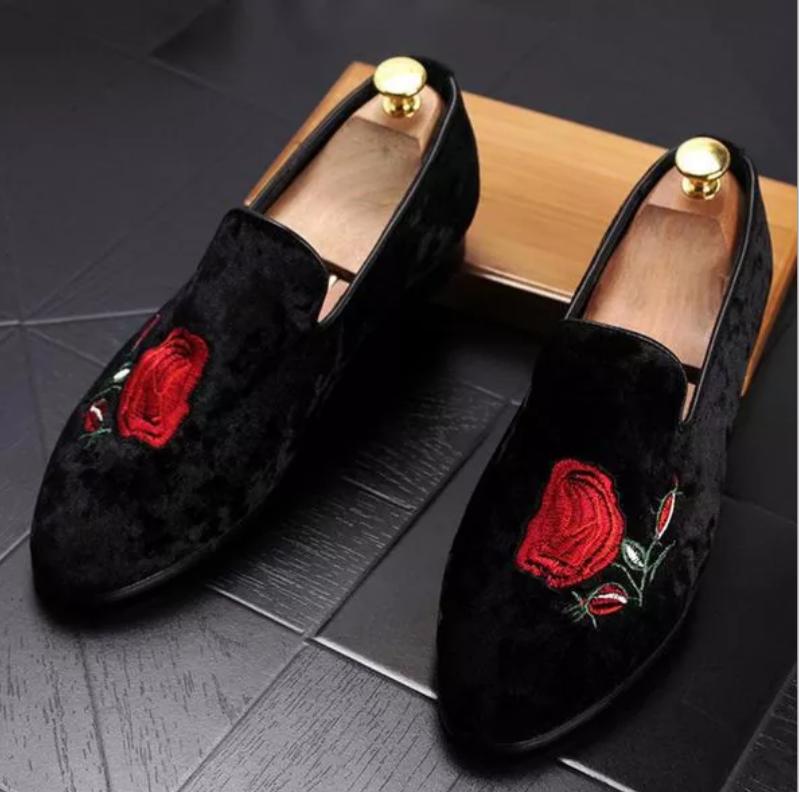 f243fc00024 Black Velvet Loafers · Kings · Online Store Powered by Storenvy